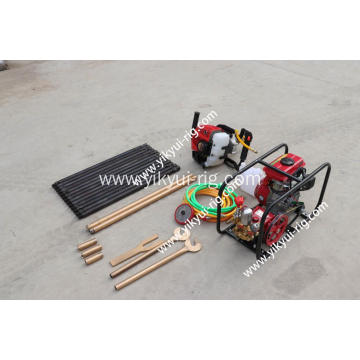 Portable hydraulic backpack drilling machine core drilling